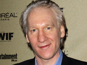 Comedian Bill Maher 