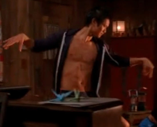 Harry Shum Jr. in Glee