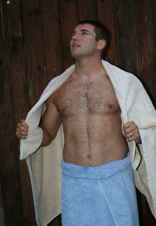 Ben Cohen shirtless