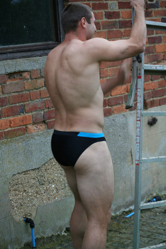 Ben Cohen in swimwear