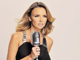 Nadine Coyle on set of the video for &#39;Insatiable&#39;