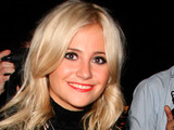 Pixie Lott at the London Fashion Week