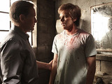 Michael C. Hall as Dexter and James Remar as Harry Morgan, Season 5 Episode 1