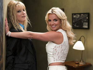 "Britney Spears appearing in the ""Britney/Brittany"" Glee Episode"