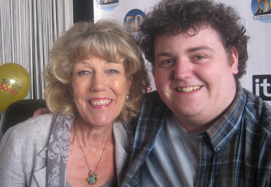 Ryan Love and Sue Nicholls