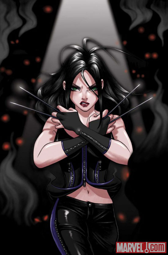 X23 Confronts Wolverine (Cover), Marvel Comics