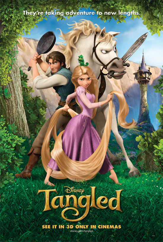 Poster for Disney's Tangled