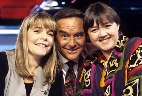 Linda Robson, Bob Monkhouse and Pauline Quirke