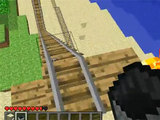 A still from the game 'Minecraft'