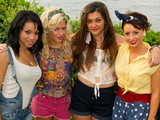 X Factor hopefuls Belle Amie