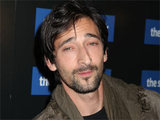 Adrien Brody arrives at a special screen of 'The Social Network'
