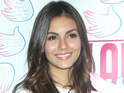 Victorious star Victoria Justice denies that she is dating Nicholas Hoult.