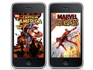 Comixology ipod iphone screenshot