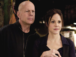 Still from the movie 'Red', starring Bruce Willis and Helen Mirren