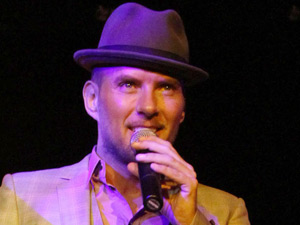 Matt Goss perofrming at a Surprise Birthday Party concert