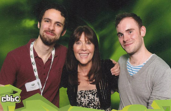 Morgan Jeffery and Chris Allen meet Elisabeth Sladen