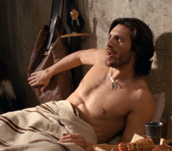 Eoin Macken shirtless