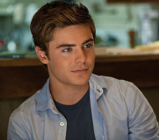 Zac looking pretty