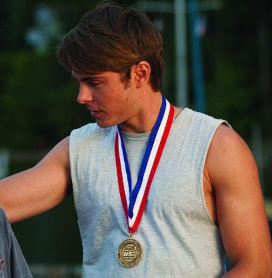 Medal-winning Zac Efron