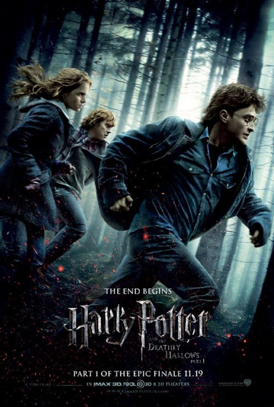 Harry Pottter and the Deathly Hallows poster