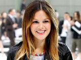 Rachel Bilson arriving at the Fashion Week in Paris