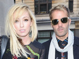 The Ting Tings outside the BBC Radio 1 studios