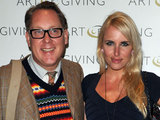 Vic Reeves and Nancy Sorrell at Art of Giving