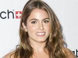 Twilight's Nikki Reed at the launch of Swatch's 'New Gents Collection' in New York City