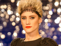 Katie Waissel denies featuring in one of Jedward's performances on The X Factor last year.