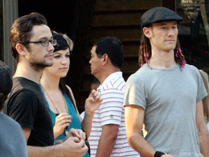 Joseph and Daniel Gordon-Levitt