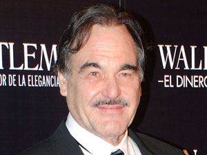Oliver Stone at the Wall Street: Money Never Sleeps premiere, Madrid