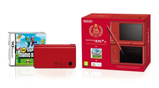 Red Nintendo DSi XL bundle