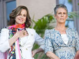 Jamie Lee Curtis and Sigourney Weaver in 'You Again'