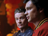 Brainiac and Clark from Smallville S10E04