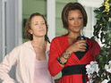 "Desperate Housewives star Felicity Huffman praises Vanessa Williams's ""energy"" in her new role."