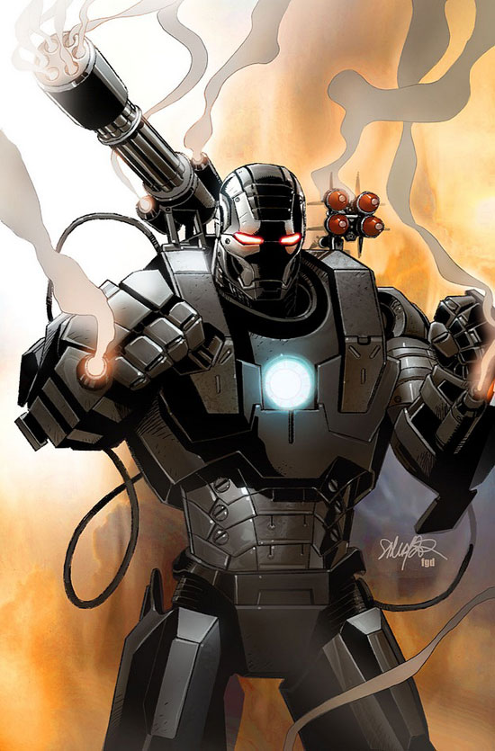 Marvel's War Machine character