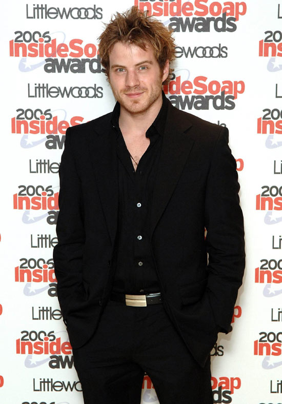 Rob Kazinsky Inside Soap Awards