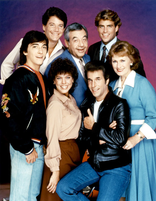 Tom Bosley on Happy Days
