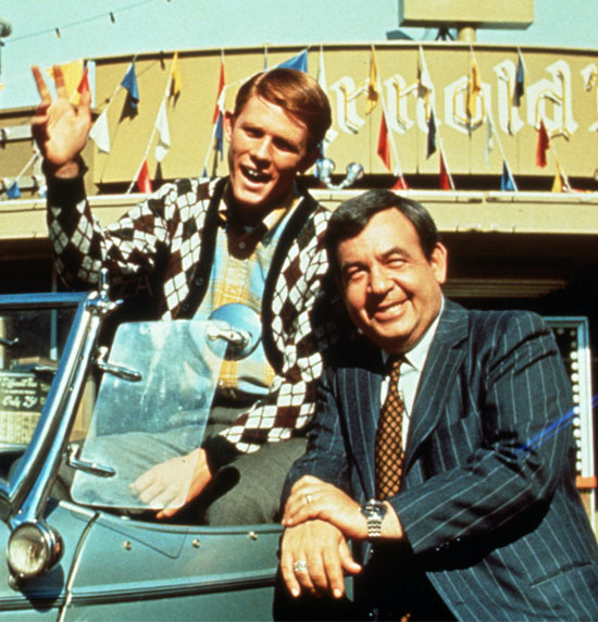 Ron Howard and Tom Bosley