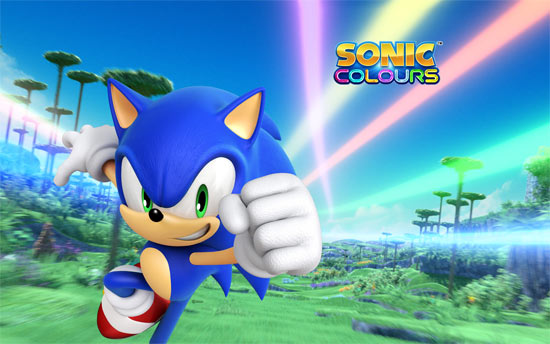 Sonic Colours Wallpaper