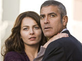 Violante Placido and George Clooney in 'The American'