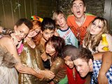 The cast of Skins USA