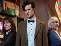 Check out new images from Matt Smith's guest appearance on The Sarah Jane Adventures.