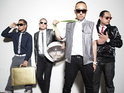 Far*East Movement climb back to the top spot on the US singles chart.