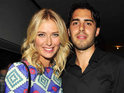 Tennis player Maria Sharapova reportedly gets engaged to Los Angeles Laker Sasha Vujacic.