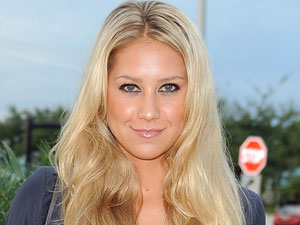 Anna Kournikova at the Release party for Paul David Pope's book 'The Deeds Of My Father'
