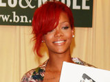 Rihanna signs copies of 'Rihanna: Rihanna' at Barnes & Noble