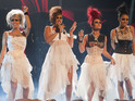 "X Factor eliminees Belle Amie say that the ""tears are still rolling"" after leaving the talent show."