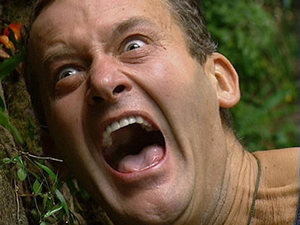 Paul Burrell Hell Holes bushtucker trial
