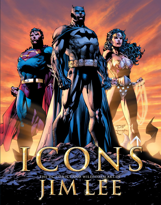 Bill Baker's 'Icons' Poster, from DC Comics